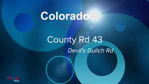 CO - County Rd 43 - Devils Gulich Rd - Feature Image