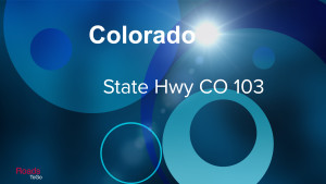 CO - State Hwy 103 - Feature Image
