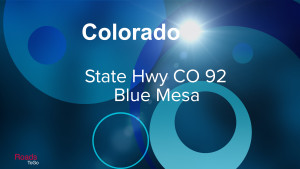 CO - State Hwy 92 Blue Mesa - Feature Image