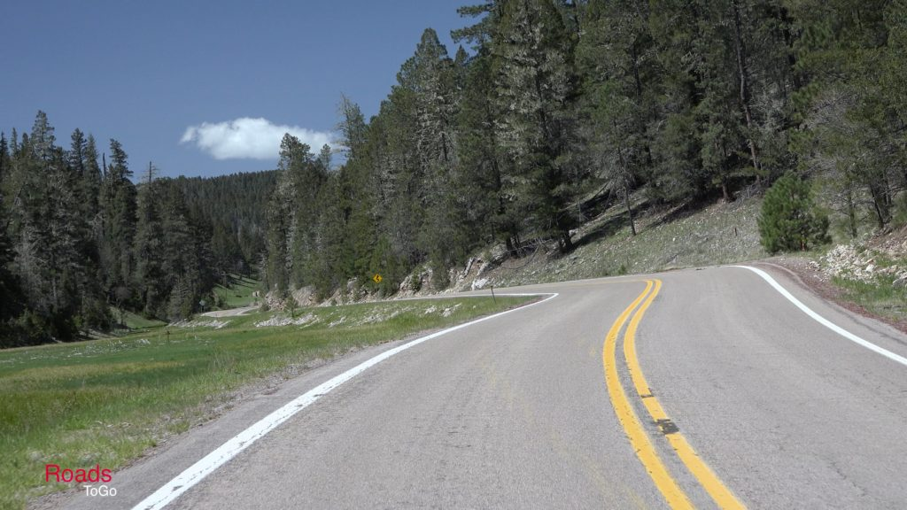 RoadsToGo Best Driving Roads - New Mexico State Highway 244 - Silver Springs Canyon Road