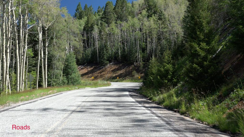 RoadsToGo Best Driving Roads - New Mexico State Highway 475 - Santa Fe Ski Basin Road and Hyde Park Road