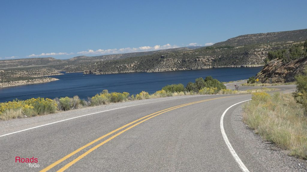 RoadsToGo Best Driving Roads - New Mexico State Highway 511 - Navajo Lake Triangle