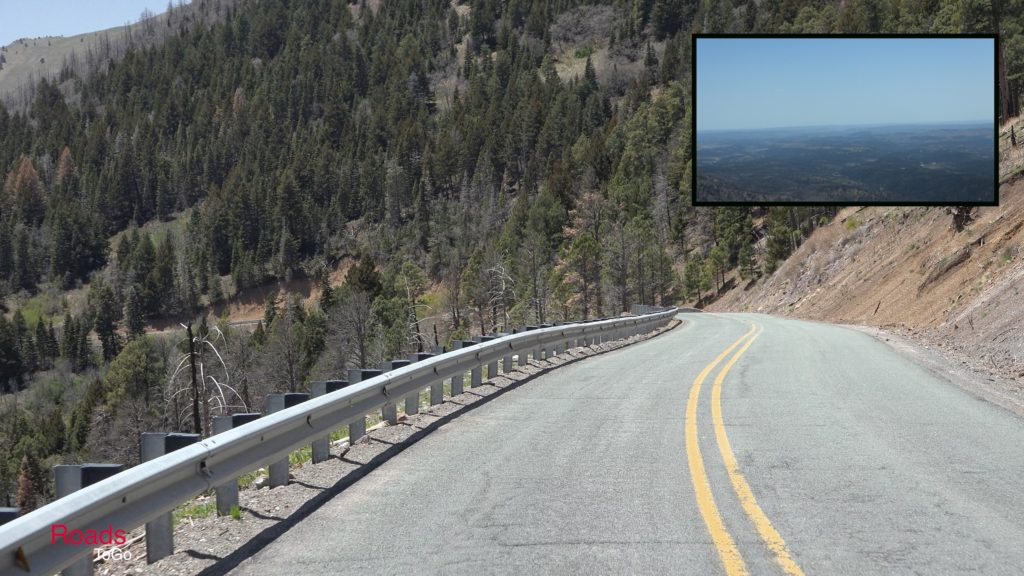 RoadsToGo Best Driving Roads - New Mexico State Highway 532 - Ski Apache