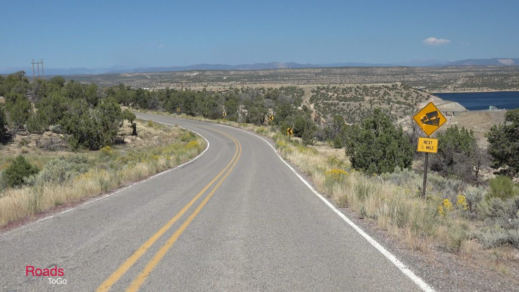 RoadsToGo Best Driving Roads - New Mexico State Highway 539 - Navajo Lake Triiangle