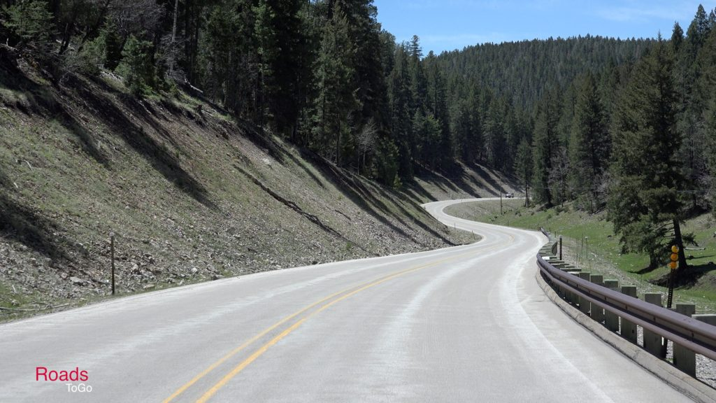 RoadsToGo Best Driving Roads - New Mexico State Highway 6563 and Forest Service Road 537 - Sunspot Scenic Byway and Sacramento Canyon Road