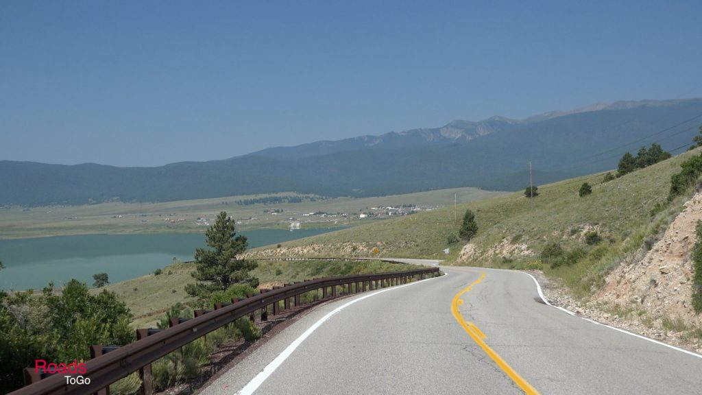 RoadsToGo Best Driving Roads - New Mexico - US Highway 64 - Eagle Nest to Cimarron