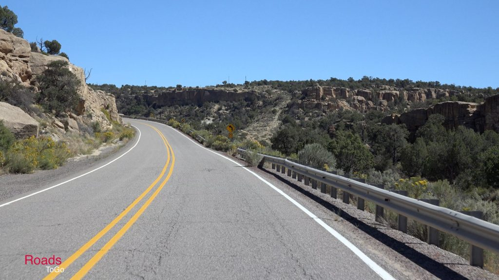 RoadsToGo Best Driving Roads - New Mexico - US Highway 64 - Navajo Lake Triangle