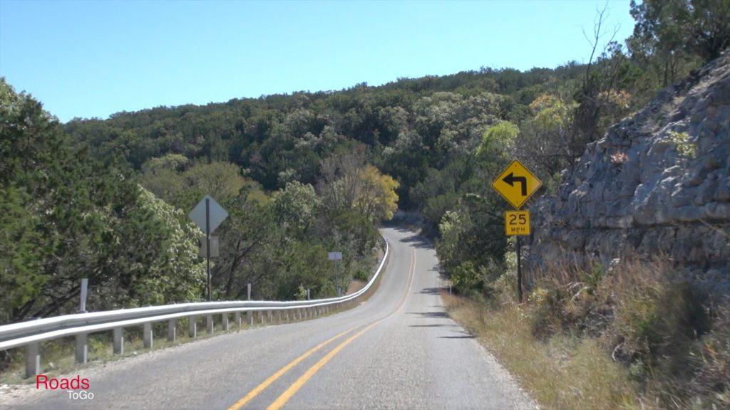 RoadsToGo Best Driving Roads and Motorcycle Roads - Ranch Road 336 - Three Twisted Sisters