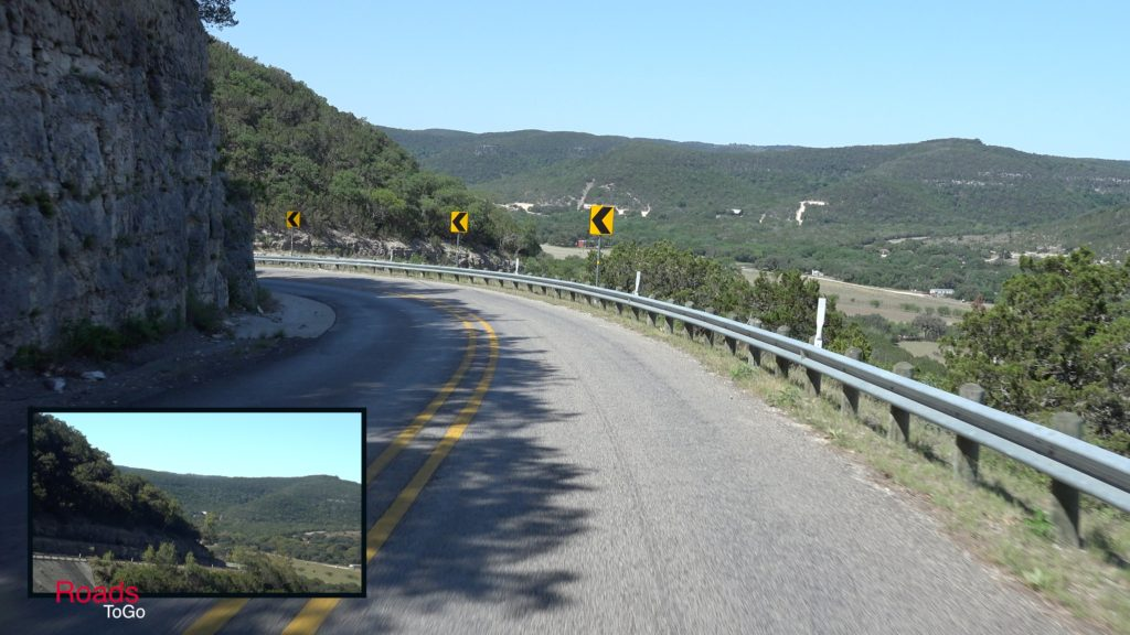 RoadsToGo Best Driving Roads and Motorcycle Roads - Ranch Road 337 - Three Twisted Sisters