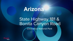 Roads ToGo - Best Driving Roads - Arizona - State Highway 181 and Bonita Canyon Road