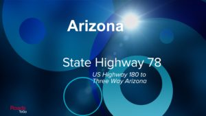 Roads ToGo - Best Driving Roads - Arizona - State Highway 78
